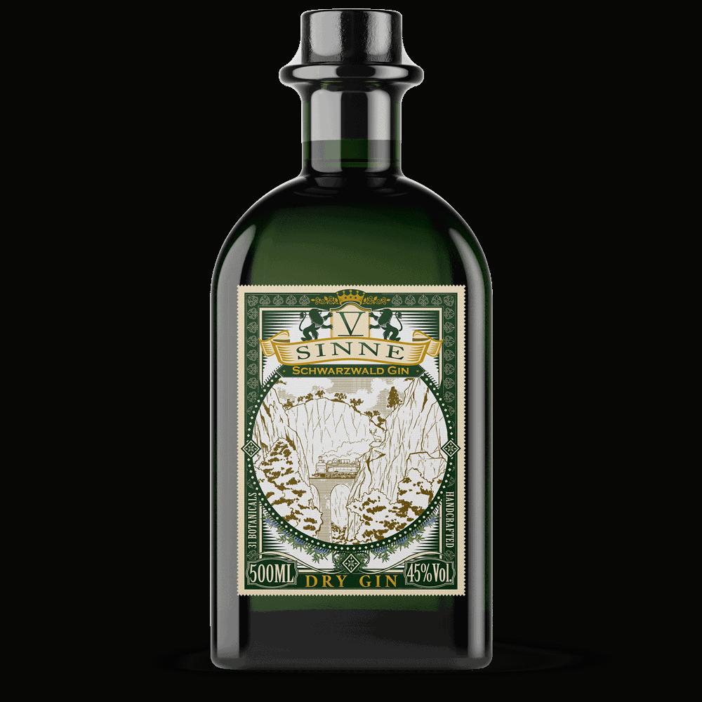 V-SINNE Schwarzwald Dry Gin 500ml
