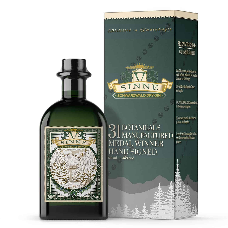 V-SINNE Gin Geschenkbox