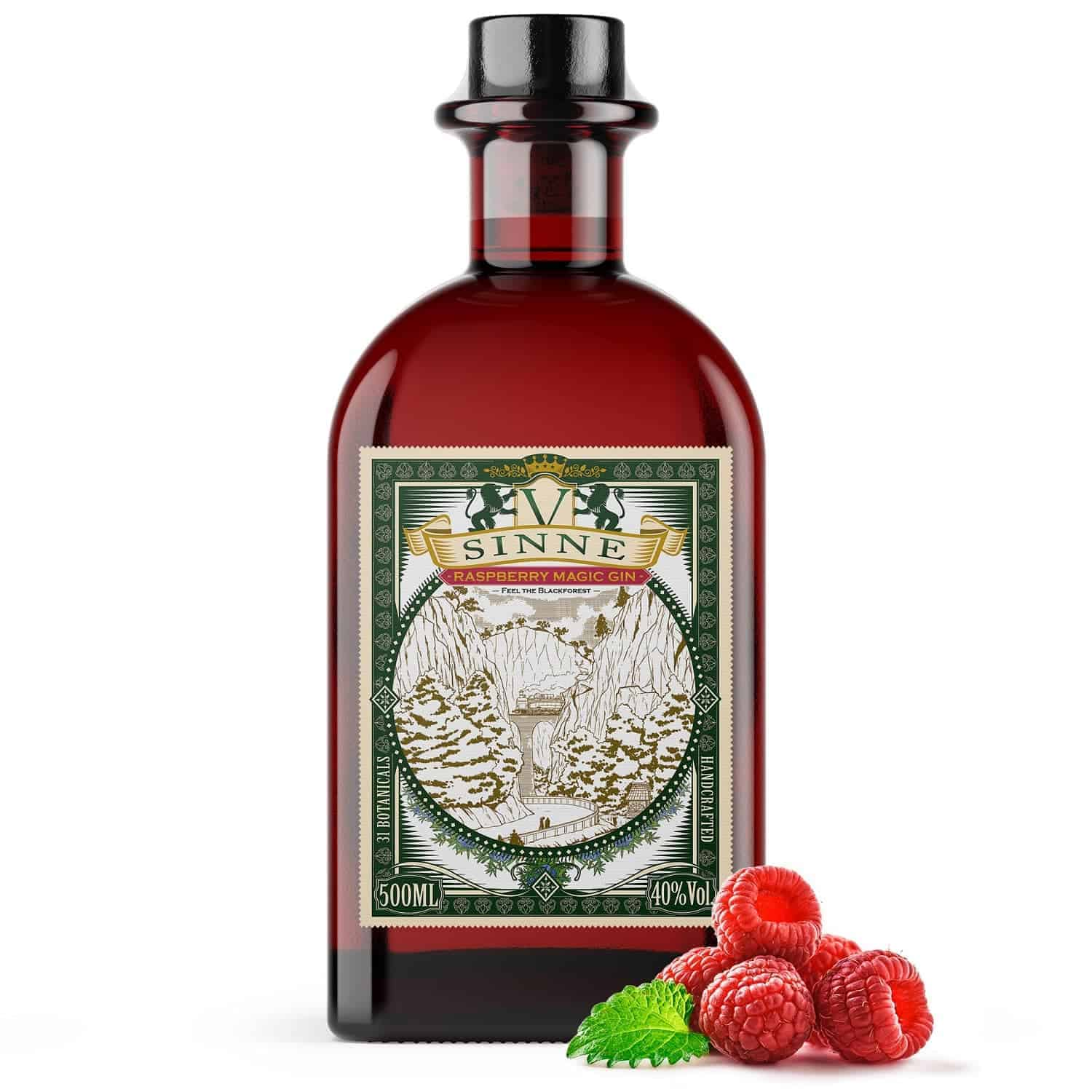 V-SINNE Raspberry Magic Gin Himbeere