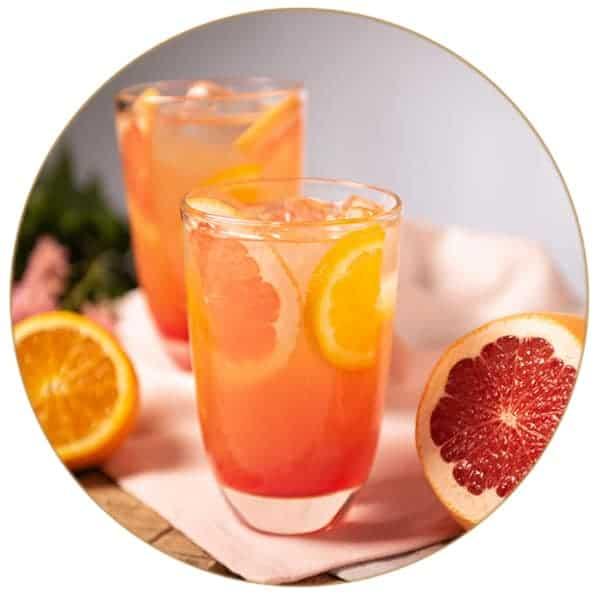 V-SINNE Gin Cocktail Rezept Bitter Sweet Symphony