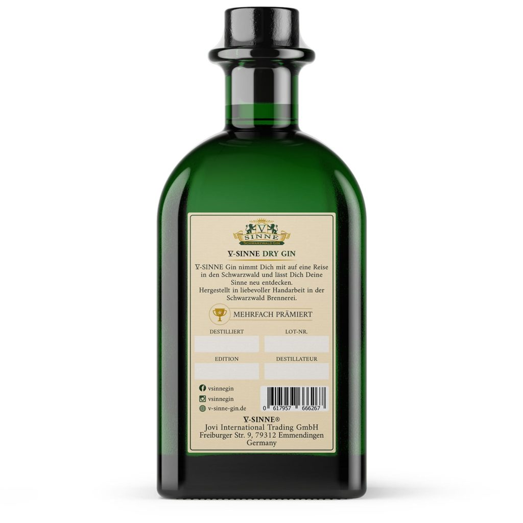 V-SINNE Dry Gin
