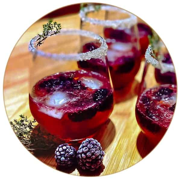 V-SINNE Gin Cocktail Berry Secco
