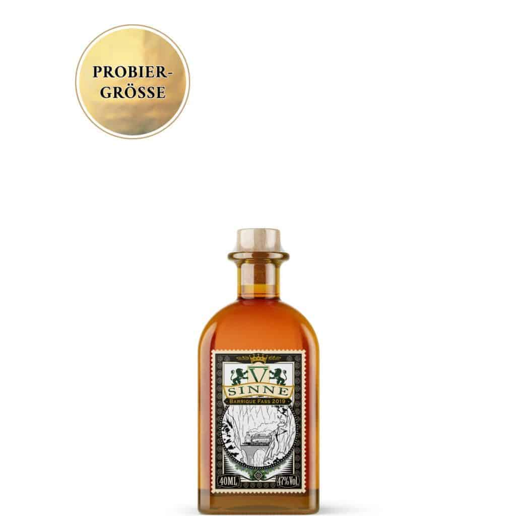 V-SINNE Schwarzwald Gin Barrique Edition Mini