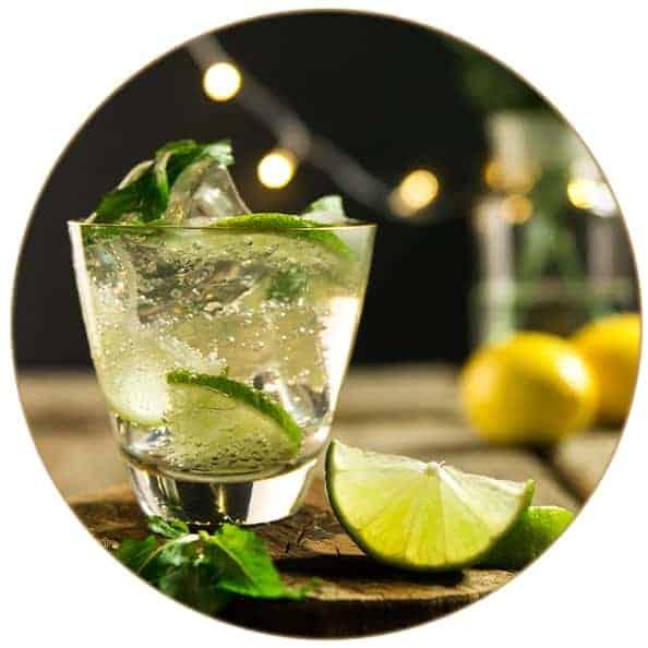 V-SINNE Gin Cocktail Gin Mule