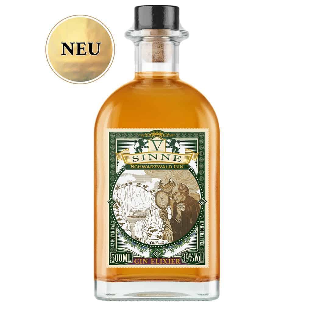 V-SINNE Schwarzwald Gin Elixier