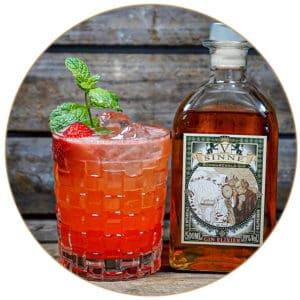 June in Paris Gin Holunder Mandelsirup