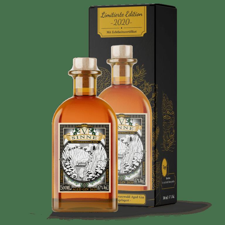 V-SINNE Aged Gin 2020 limitierte Geschenkbox