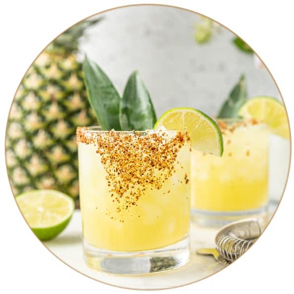 Gin Fizz Ananas