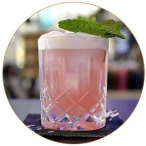Pink Lady Cocktail Grenadine