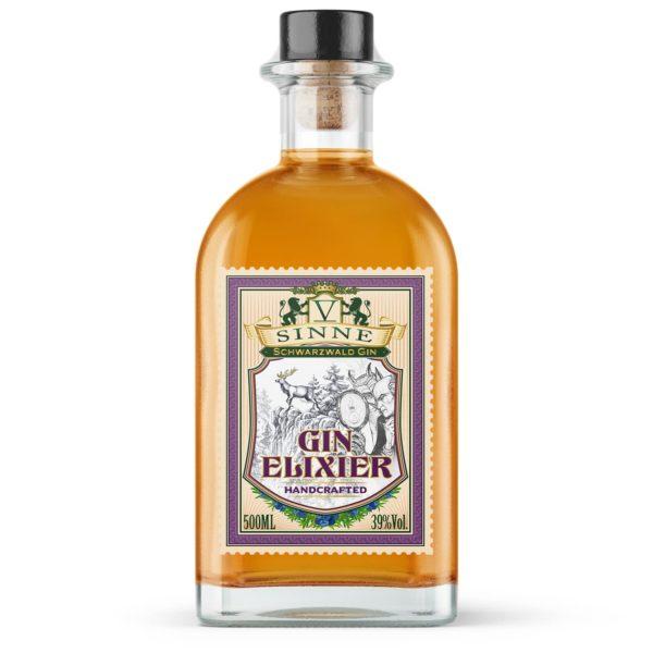 fünf V-sinne Gin Elixier aus der manufaktur