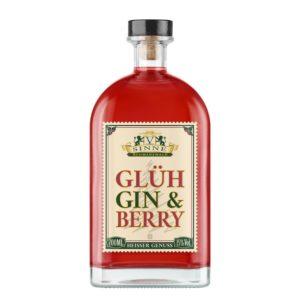 V-SINNE Glüh-Gin Vorderseite