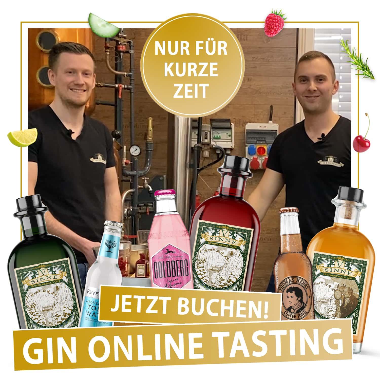 Gin Tasting Startseite